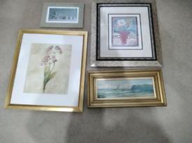 Job Lot of Framed Prints and Artwork