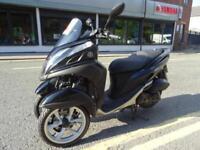 2014 64 Yamaha MW125 Tricity after market exhuast