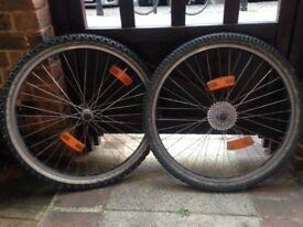 "Araya 26"" Mountain Bike Wheelset"
