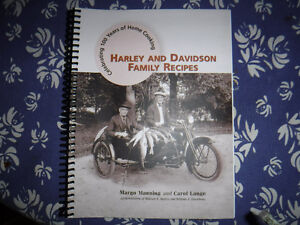 Harley and Davidson Family Recipes cook book