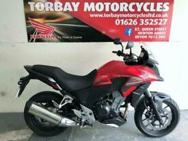 HONDA CB500X ADVENTURE BIKE RED 1 OWNER 747 MILES 65 REG