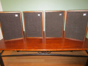 VINTAGE WHARFEDALE DENTON 3 SPEAKERS one pair left