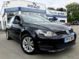 2013 Volkswagen GOLF SE TDI BLUEMOTION TECHNOLOGY Manual Hatchback