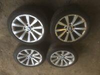 "BMW 17"" OEM Alloy Wheels E90"
