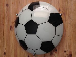 Soccer Ball Flush Ceiling Light,