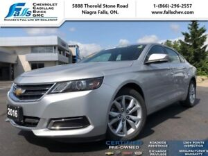 "2016 Chevrolet Impala 2LT  REARCAM,REMOTE START,18""ALLOYS"