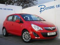 2013 13 Vauxhall Corsa 1.4i 16v SE Manual Petrol for sale in AYRSHIRE