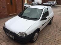 1999 Vauxhall Corsavan 1.7D GLS * 12 Months MOT - NO VAT TO PAY * Cheap Van *