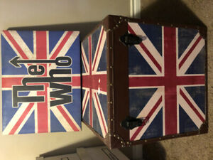 The WHO ....Trunk and Wall hanging