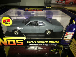 Plymouth Duster 1971 NOS diecast 1/18 die cast