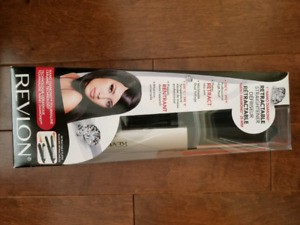 REVLON Tourmaline Ceramic retractable straightener