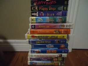 Selection of  Kids VHS Movies