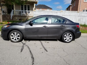 2012 Mazda 3 Sedan, Low KM, with a set of extra tires