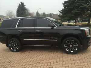 2015 GMC Yukon Denali 6.2l EXTENDED WARRANTY LOADED NO GST