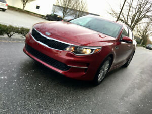 2016 KIA OPTIMA LX SEDAN RED 66k