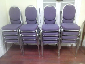 Hotel Chairs For Sale, Good Condition, Stackable, $20 each
