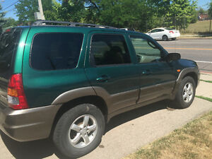 B.C. VEHICLE: 2001 Mazda Tribute SUV, Crossover