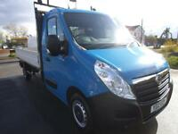 2012 VAUXHALL MOVANO 2.3 CDTI 150 3500 L3 12 FT 6 ALLOY DROPSIDE**FSH**BUY FROM