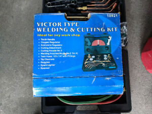 Victor Style Welding Torch and Tanks