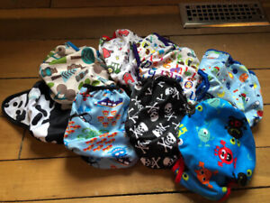 Borrowed Planet covers - diapers