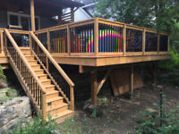 Quality Deck and Fence Services - Book Now for Spring/Summer!