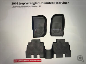 Jeep Wrangler Unlimited WeatherTech Floor Liner