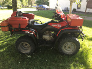 2001 Honda Fourtrax ES 350