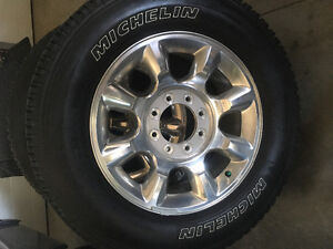 2006-2016 Ford F-350 Tires/rims