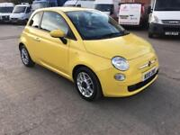 Fiat 500 1.2 ( 69bhp ) Dualogic AUTO POP 3 DOOR - 2010 10-REG - ONLY 19000 MILES