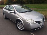 2006 56 Nissan primera 1.8 sx 5 door hatchback sat Nav # reverse camera # cheap insurance model #
