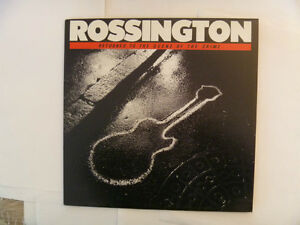 Rossington Collins Band LPs - 2 to choose from