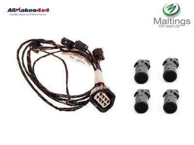 discovery 3 parking sensor wiring loom + sensor kit discovery 3 pdc kit rear