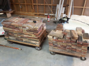 Wood stove fire bricks