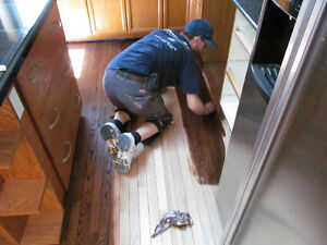 Hardwood Floor Refinishing, Staircase and Railing Refinishing London Ontario image 2