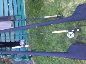Fly Rods & reels with Cases