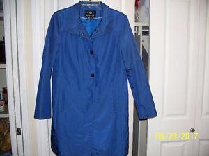 ROYAL BLUE DRESS COAT