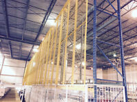 Wire Mesh Pallet Rack Backstops for Sale