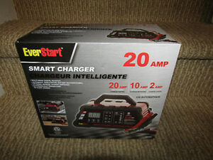new Everstart Smart Charger 20 amp