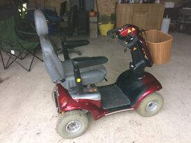 Mobility scooter shoprider deluxe TE889SSL