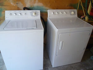 General Electric Washer and Dryer - Heavy Duty Super Capacity--