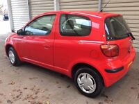 Toyota Yaris 1.0 VVT-I T2 Full Service Low Mileage One Lady Owner Very Well Looked After