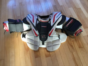 Vaughn Velocity Hockey Goalie Chest Protector JR Small