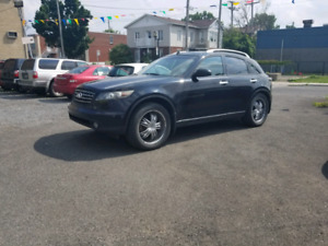 INFINITI FX45 2005 FULLY LOADED GPS CAMERA DVD GOOD CONDITION