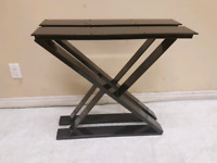 heavy duty custom made metal table legs for sale ( powder coated