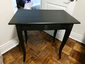 Ikea desk/side table solid wood