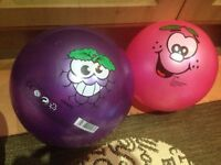 2 grape smelly balls. Good clean condition.
