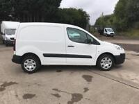 Peugeot Partner L1 850S 1.6 92PS (SLD) EURO 5 DIESEL MANUAL WHITE (2015)