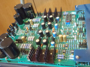 audio repairman, amplifier recap, upgrade, repair. (audiophile)