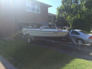16ft Centre Console Fishing/ski boat
