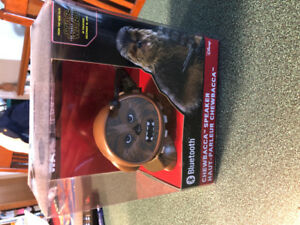 Star Wars Chewbacca bluetooth speaker. $20